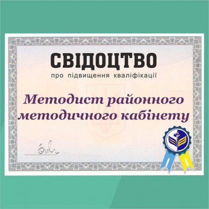 Методист районного методичного кабінету